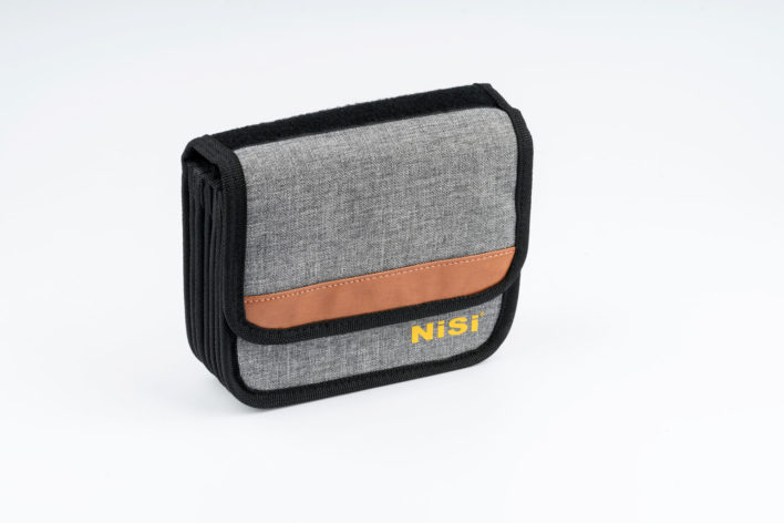 "NiSi Cinema Filter Pouch for 4x5'' and 4x5.65"" (Holds 7 x 4x45'' or 4x5.65"" Filters )"
